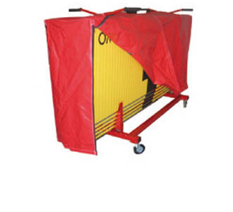 Touchpad trolley cover