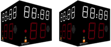 Multisport Super Pro- 4 SIDED Shot clock timer